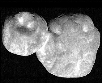 """Pancakes"" in the Kuiper Belt"