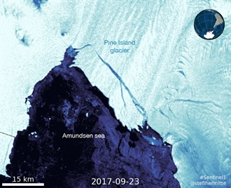Fast Glacial Retreat In Antarctica